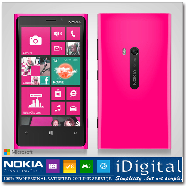 Unlocked Original NOKIA Lumia 920 Windows Mobile Phone Win8 OS 32GB ROM Dual-Core 1.5GHz 4.5'' IPS 8.7MP WIFI GPS 3G Smartphone(China (Mainland))