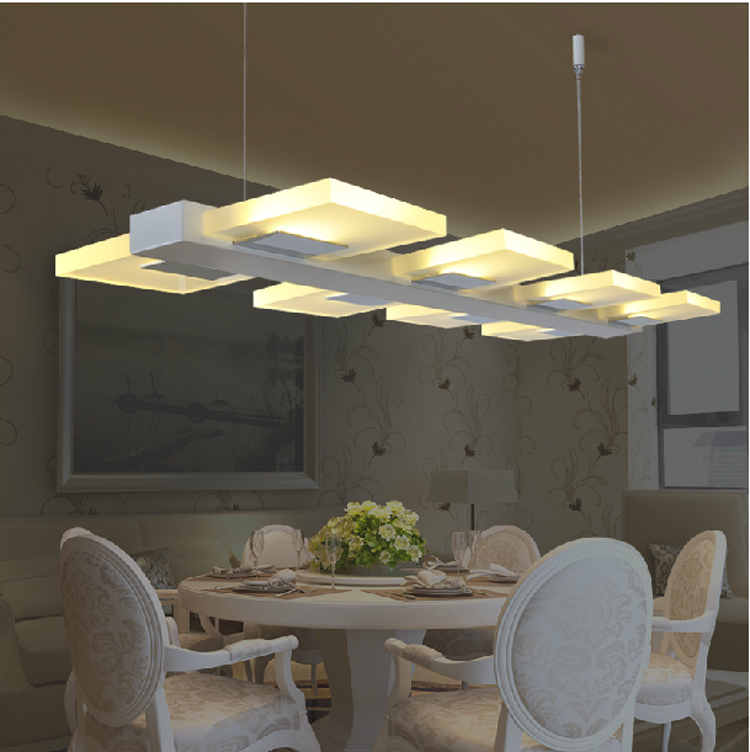 Led kitchen lighting fixtures modern lamps for dining room led cord pendant light bar counter - Modern light fixtures dining room ...