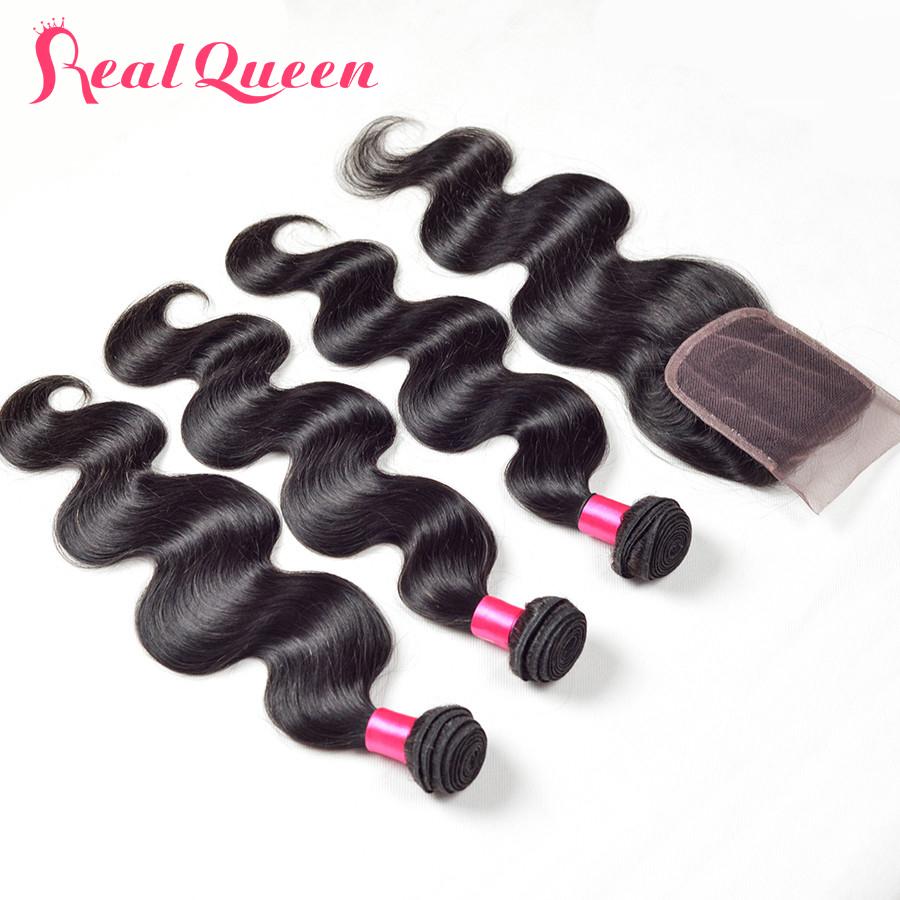 Virgin hair with closure Peruvian virgin hair with closure Peruvian body wave with closure Human hair weave closure 3 bundles