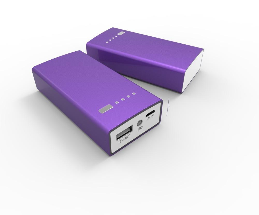 5200mAh USB Portable External Backup Battery Charger power bank battery for mobile phone(China (Mainland))