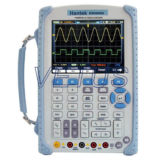 Fast Shipping Hantek DSO8060 Handheld test tools/digital storage oscilloscope/multimeter<br>