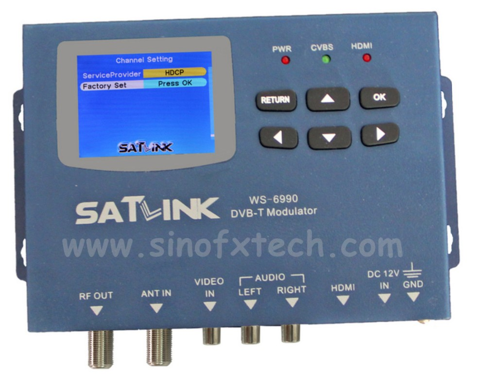 SATLINK WS6990 MODULATOR for DVB-T 1