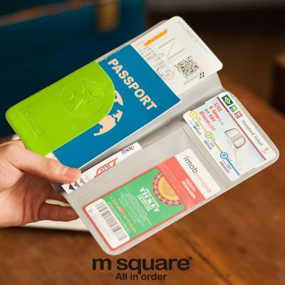 M Square Travel Electronic Accessories Bag Organizer Mini Phone Clutch Bag Cable Battery Bank Storage Card Holder