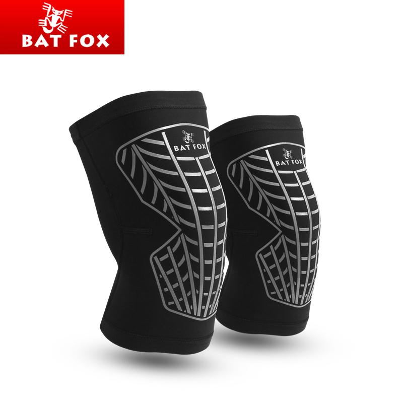 BATFOX 1 PCS Knee Support 3 Colors Volleyball Cycling Sports Knee Protector Brace Knee Pads Kneepad Rodilleras Basketball Sleeve(China (Mainland))