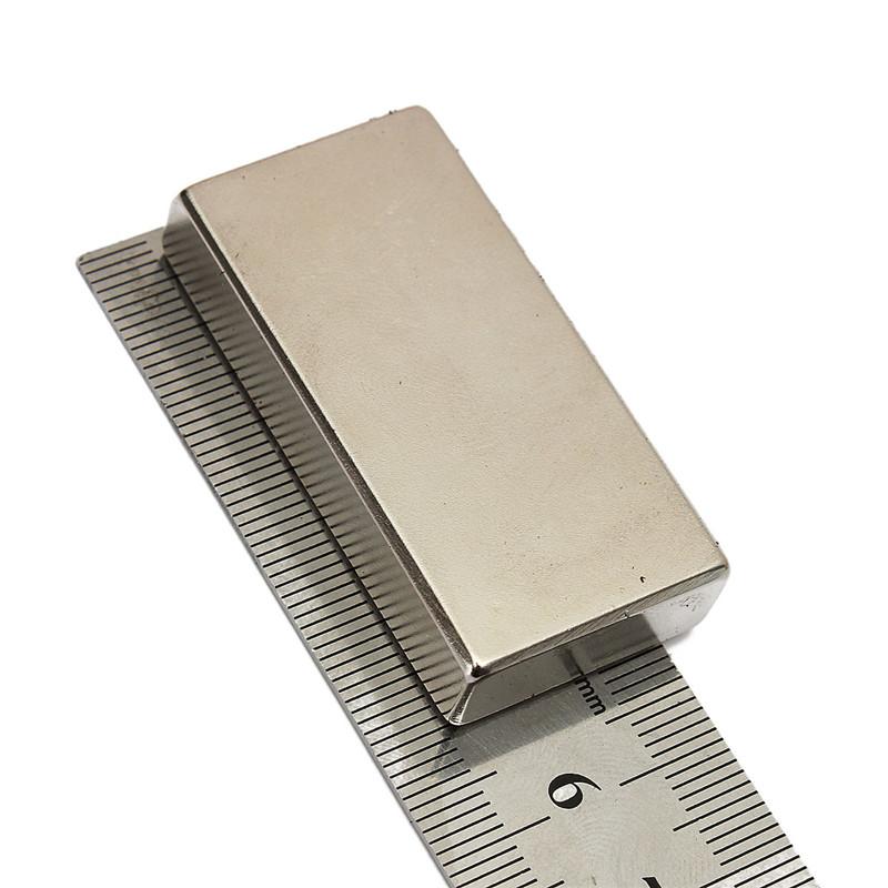 Newest 1PC Neodymium Block Disc Magnets N52 Rare Earth Magnet Very Powerful NEO Magnets DIY MRO 50 X 25 X 10mm(China (Mainland))
