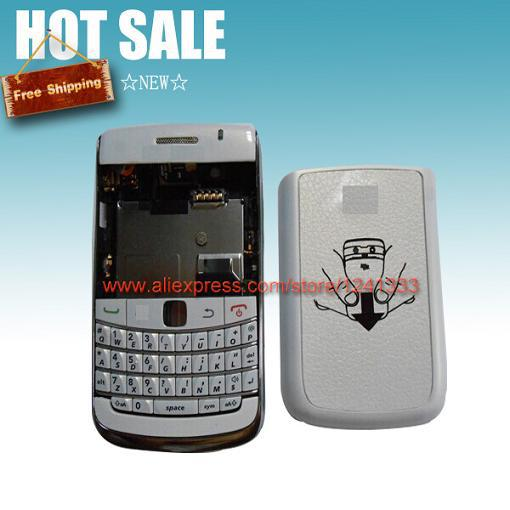10pcs/lot free shipping full housing complete back cover case with keypad for blackberry bold 9700 replacement parts(China (Mainland))