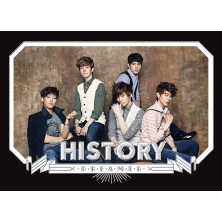 HISTORY 1ST SINGLE ALBUM - DREAMER RELEASE DATE 2013.04.30 KPOP ALBUM<br><br>Aliexpress