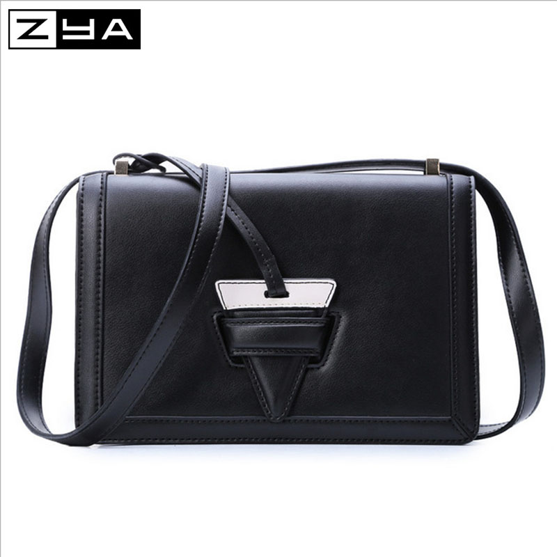 ZYA fashion Simple fur envelope PU leather women hang bag travel makeup versatile ladies messenger bags newest shoulder bags(China (Mainland))