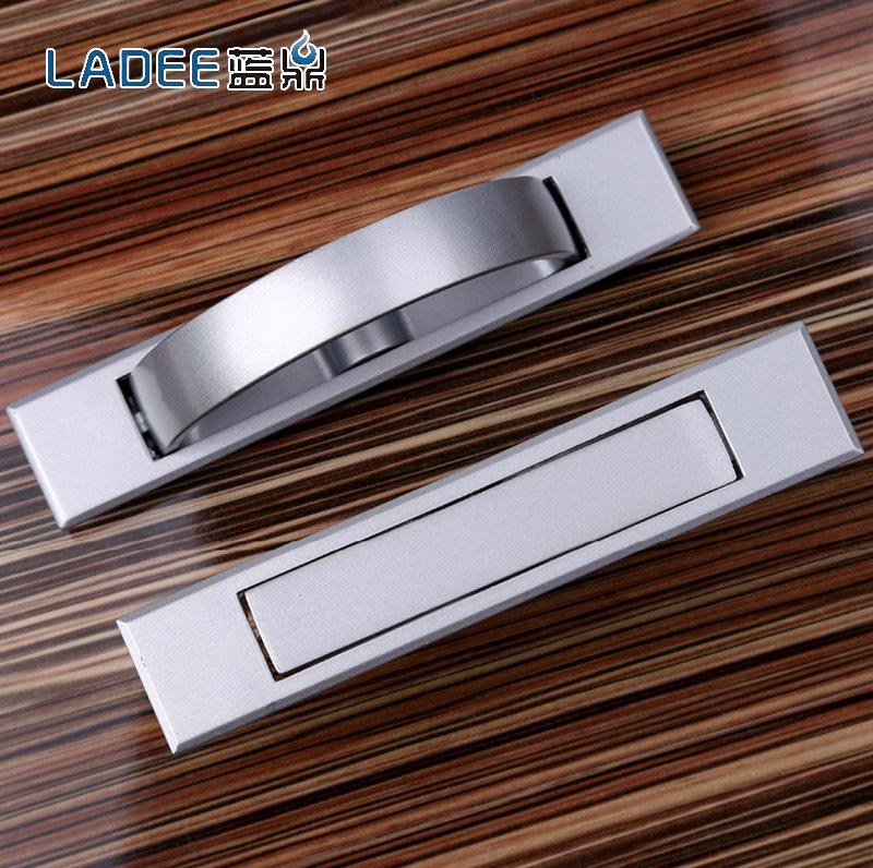 A tatami floor blue tripod handle drawer dark modern Improved embedding invisible embedded handle 505<br><br>Aliexpress