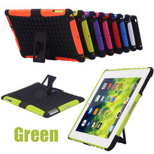 For ipad 2 3 4 Case Cover Heavy Duty Hard Case Shockproof Non Slip Stand Tablet Case For Apple Ipad with Stylus 8 Colors(China (Mainland))
