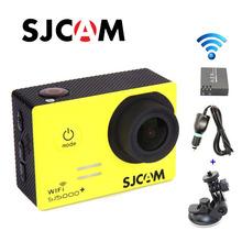 Original SJCAM SJ5000 Plus Ambarella A7LS75 1080P 60FPS WiFi Sport Action +Extra 1pcs battery+Car Charger+Holder for DV camera