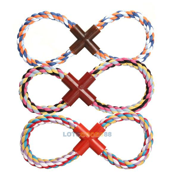 LS4G 2014 New Pet Toys Cotton Rope Catching Toy Chew Odontoprisis Rope for Pet Dog Puppy(China (Mainland))