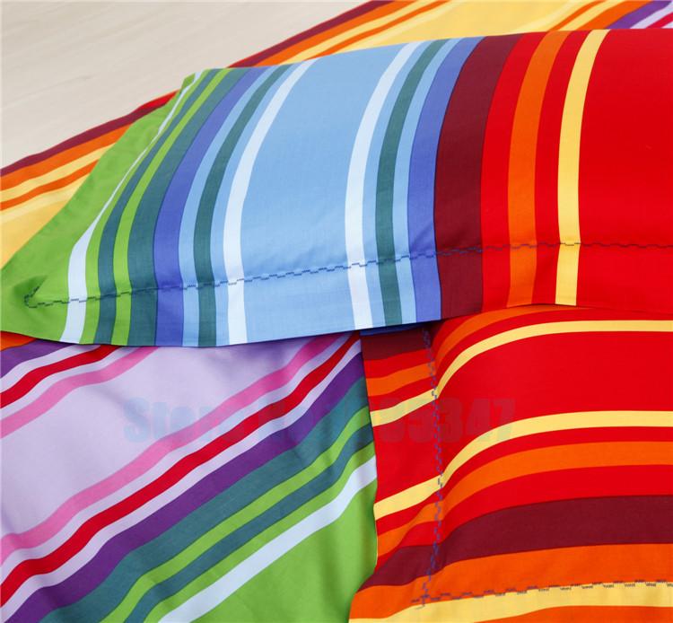 Colored Stripes Striped Multi Color Cotton