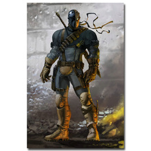 """Buy Deathtstroke Batman Arkham Origins Knight Hot Game Art Silk Poster Print 12x18 24x36"""" Wall Pictures Living Room Decor 001 for $5.15 in AliExpress store"""