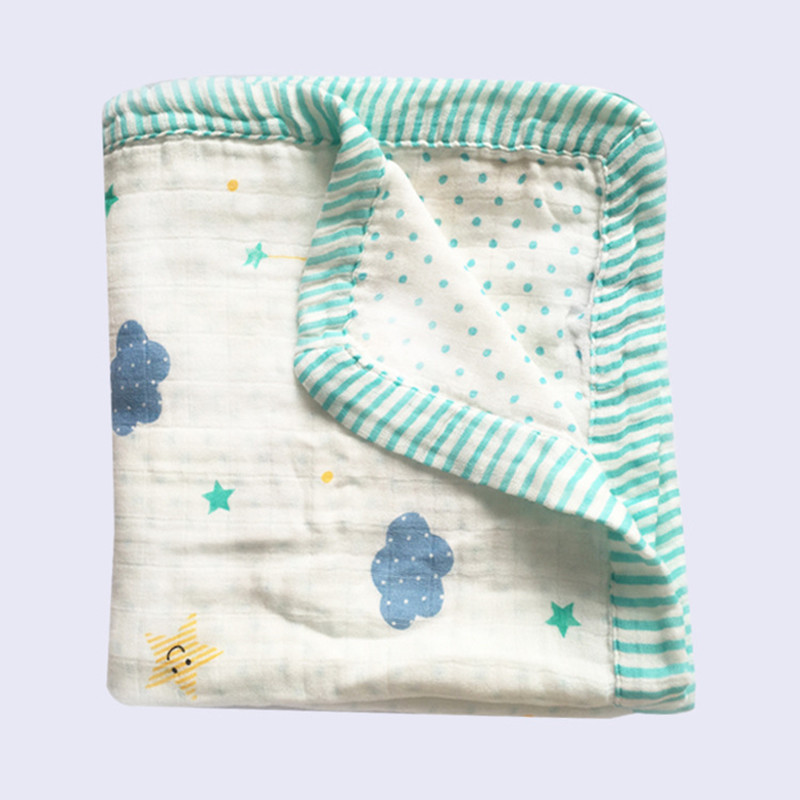 four layer bamboo baby muslin blanket Muslin Tree swaddle better than Aden Anais Baby/bamboo Blanket Infant Wrap