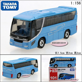 Dume tomy tourist bus t101 exquisite alloy car model free air mail