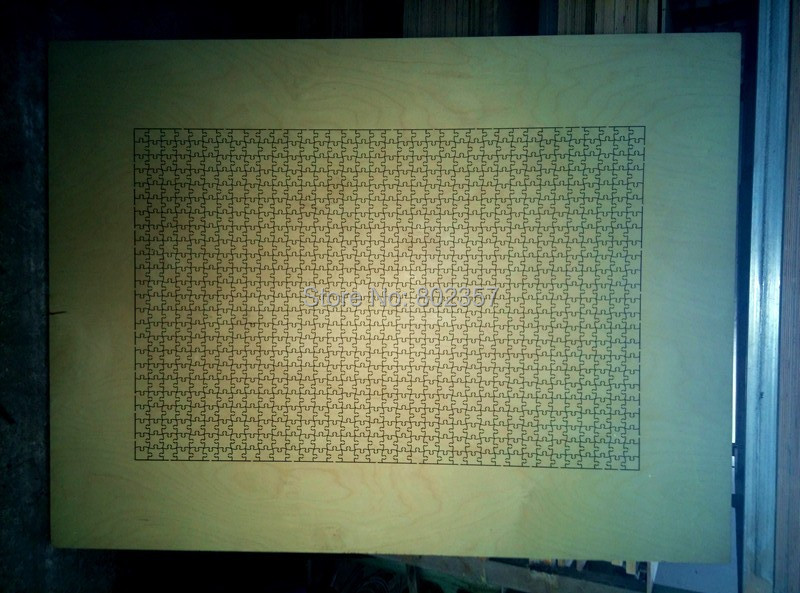 Die cutter jigsaw puzzle die 24x36inch-864pcs Cheap deal(China (Mainland))
