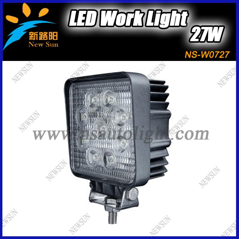 27w Led Work Light : W led worklight spot flood beam work lamp tractor truck