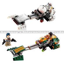 2pec/set Star Wars ezra speed Locomotive Advanced Prototype Building Blocks Bricks Figure Toy minifigures compatible legoelieds