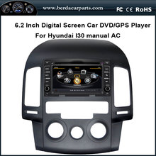 Car DVD Video Player For Hyundai i30 2007-2011 With GPS Radio Bluetooth Support DVR Free Map