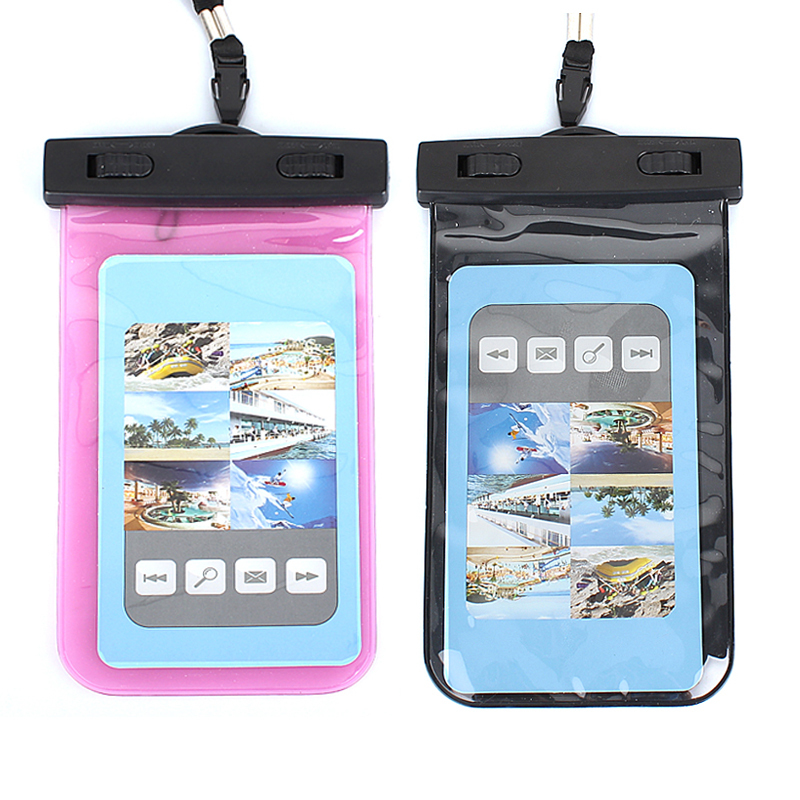 Underwater Waterproof Dry Pouch Bag Case Cover For Cell phones iphone Samsung HTC 17x10.2cm(China (Mainland))