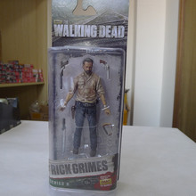 "McFarlane Toys AMC Walking Dead 5"" Action Figure Rick Grimes New(China (Mainland))"