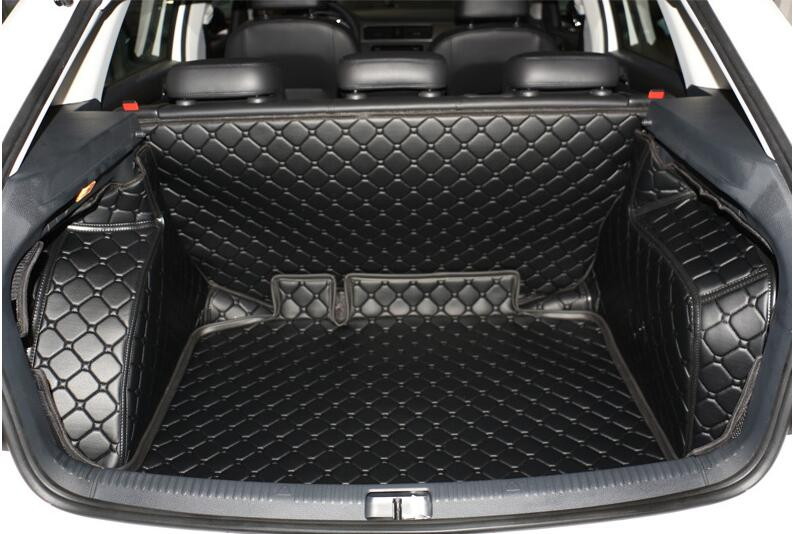 bbf66b0edb9f Good! Special trunk mats for Skoda Rapid hatchback 2016-2014 durable  waterproof boot carpets liner for Rapid 2015,Free shipping - us110