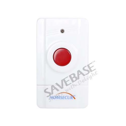 HOMSECUR A5 Wireless Emergency Button for Our Related Home Alarm Home Security System 433Mhz Panic Button(China (Mainland))
