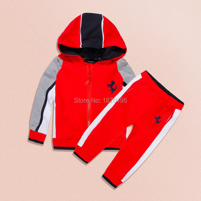 2015 winter brand design top quality baby boys 2-7 year coat + pants kids clothing sets brand tracksuits zipper hoodies<br><br>Aliexpress