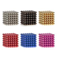 Brand New 3 mm 216 6 x 6 x 6 sphère aimant Cube magnétique buckyball boule perle Puzzl