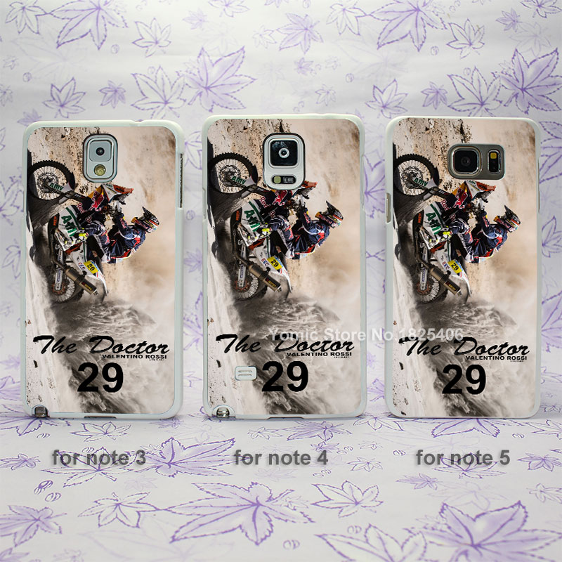 Motorcycle rider two wheels Dakar Sand Sport hard White Skin Case Cover for Samsung Galaxy note 2 3 4 5 s4mini s6edge(China (Mainland))