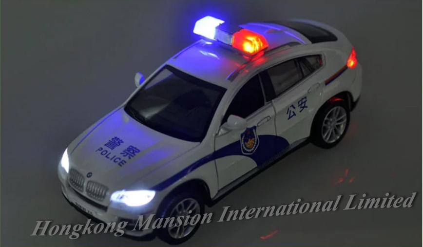 132 Police Car Model For BMW X6 (8)