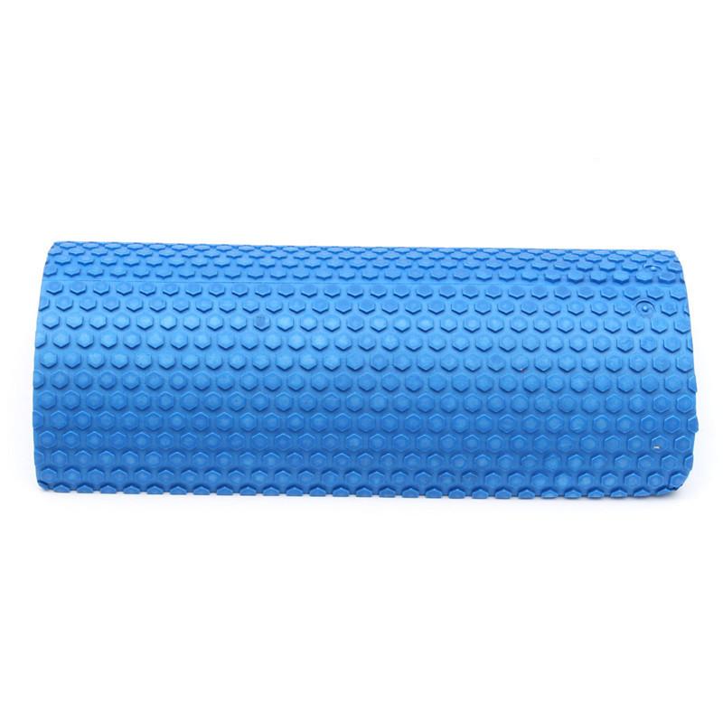 Hot selling Blue Yoga Blocks EVA foam Yoga roller Pilates Fitness Half Round Foam Roller With