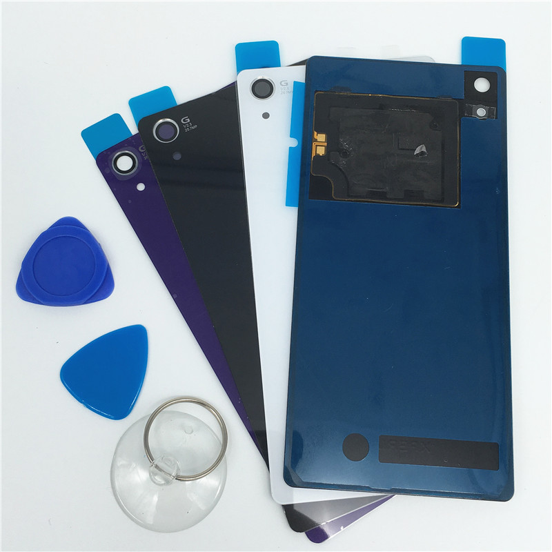 Sony xperia Z2 Back Glass L50W D6503 Rear Cover Housing NFC Battery Tool - Store 2014 store