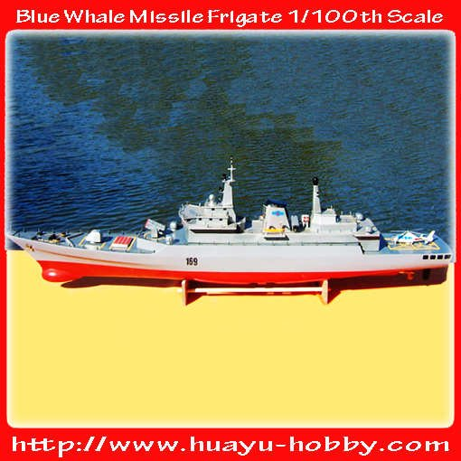 Free Shipping :Specifications Of Blue Whale Missile Frigate1/100 boat fiberglass Hull Wooden Deck wiht motor Toys RC04