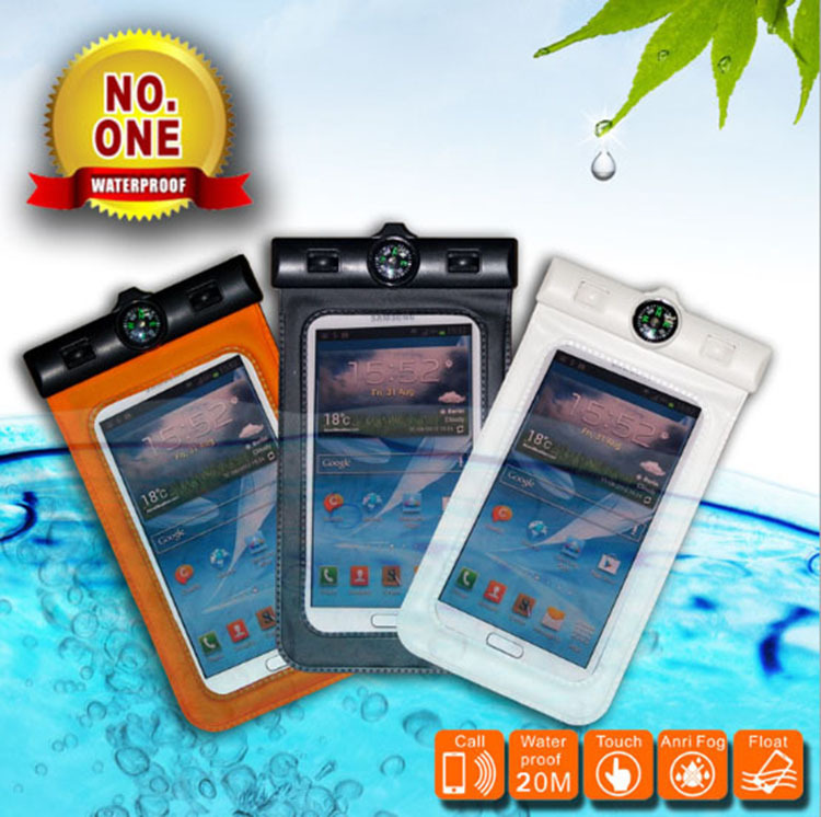 New 2014 Sealed Waterproof Durable Water Proof Bag Underwater Cover Case For Apple iPhone 5c Mobile Phone Temper-Meter Pouch