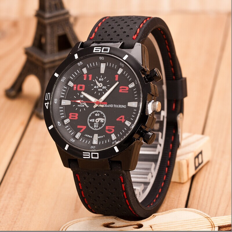 BK 2015 New Brand Design Silicone Sports Analog Quartz Watches Men Relogio Feminino<br><br>Aliexpress