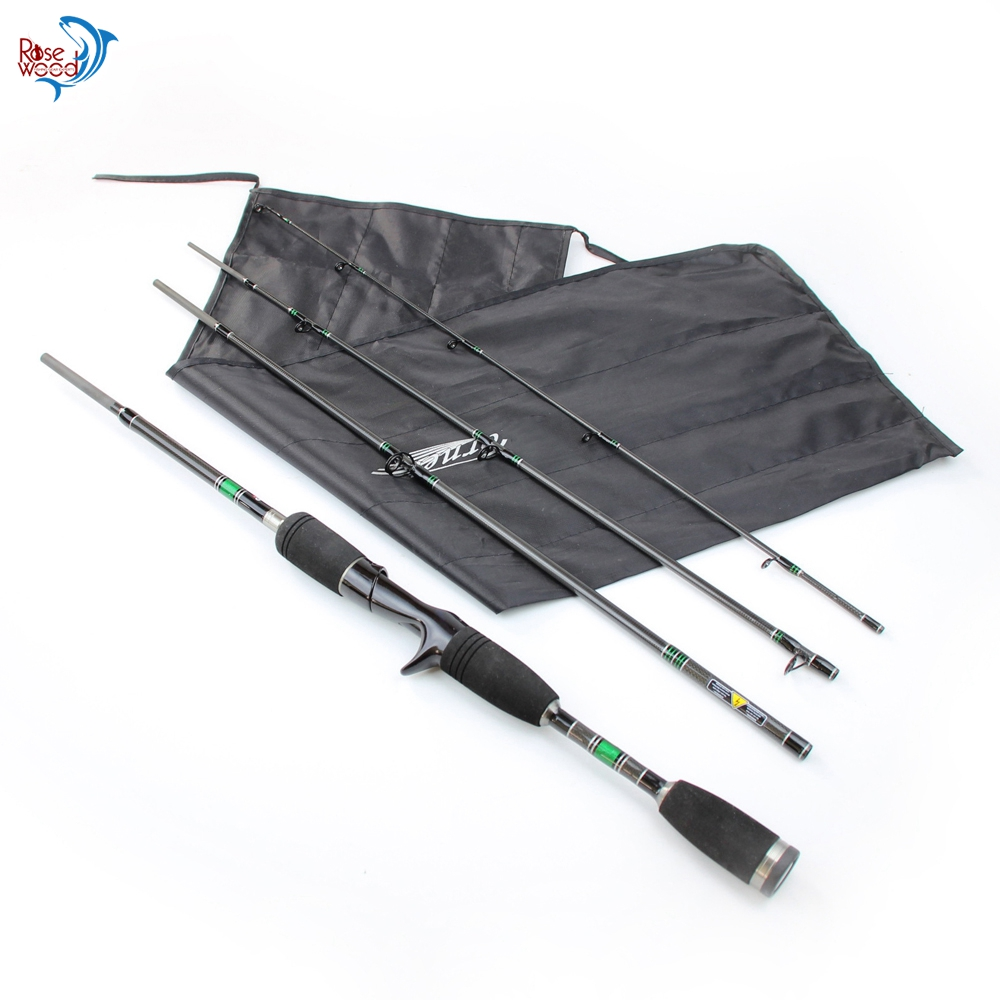 1.98m cheap abu garcia casting spinning carbon fiber fishing rod 4 sections casting rod for fishing spinning baitcasting pole