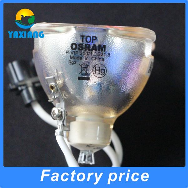 Original Bare projector lamp bulb OSRAM P-VIP300/1.3 E21.8 for 5J.J2G01.001 TDP-T251 EP1080 EP780 HD805S DZ7801 EX779P, etc <br>