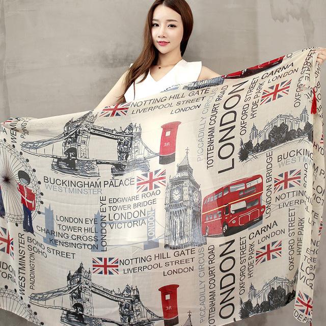 Автомобиля и флаг богемия длинный шарф для женщин, Женский кружева кисточкой бусины прекрасный марка дизайнер шарф бесплатная доставка