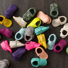 Fashion Leopard Camouflage Newborn Toddler First Walkers Moccasins Soft Kids Shoes Baby Prewalker Tassels PU Leather Shoes 2212