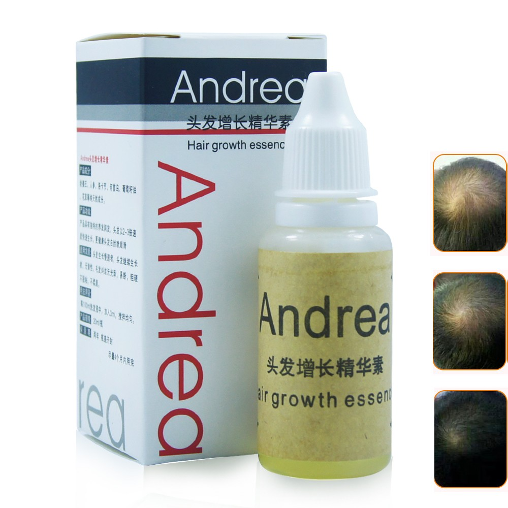 Andrea Crescimento Do Cabelo da Perda de Cabelo Essência cabelo denso Líquido 20 ml sunburst crescimento do cabelo crescer rápido Restauração pilatory