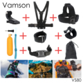 Vamson for Gopro Hero 5 Accessories Selfie Monopod Octopus Tripod For go pro hero 5 4 3+ 3 2 1 xiaomi yi eken h9r sj4000 VS02