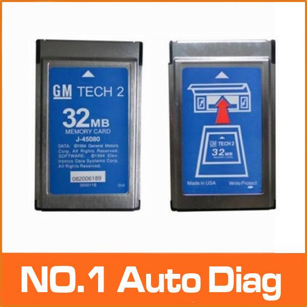 Top Hot 32MB CARD FOR GM TECH2 for Opel /GM /SAAB/ISUZU/Suzuki/Holden original gm tech2 32mb card ,32 MB Memory GM Tech 2 Card(China (Mainland))