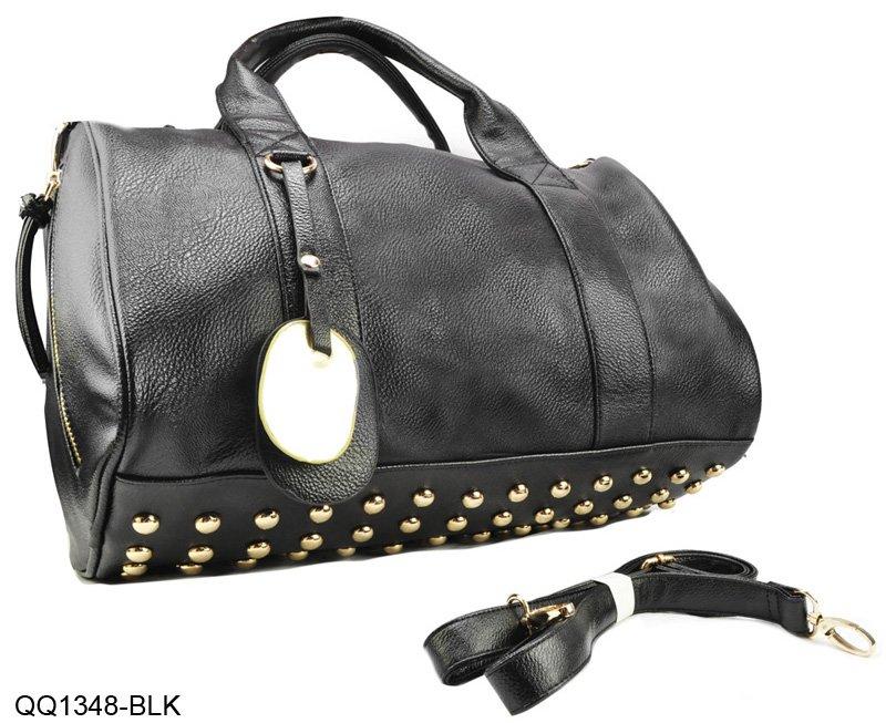 8Color Star Products! guaranteed 100% Rivets decoration handbags fashion 2015 new women bags handbag bag/QQ1348(China (Mainland))