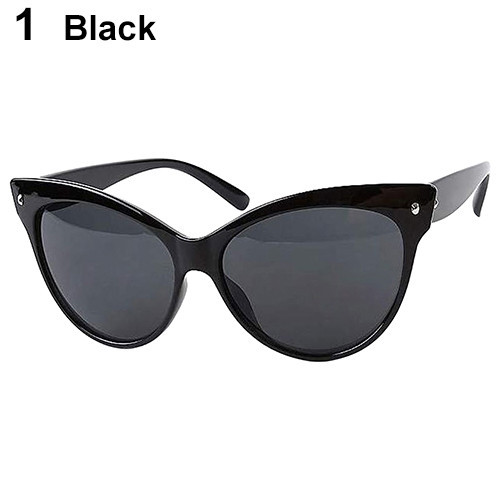 Fashion Womens Classic Vintage Eyewear Cat Eye Designer Shades Frame Sunglasses