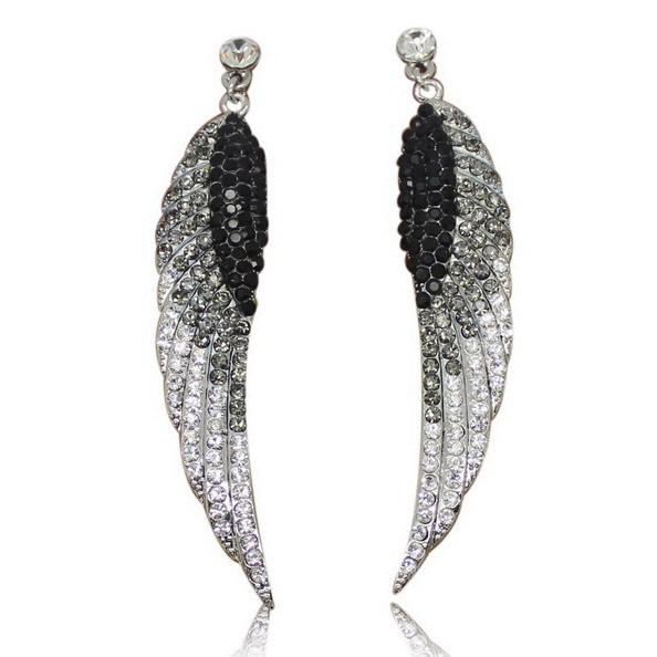 2016 new angel wings Retro Style Earrings Jewelry free shipping(China (Mainland))