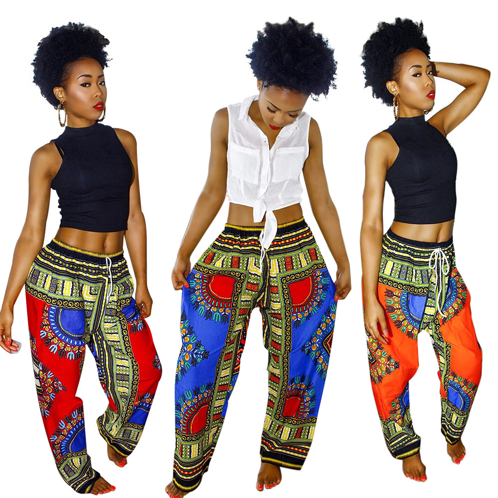 caliente africano trajes