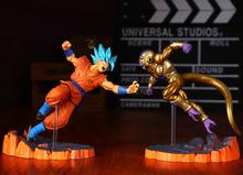 Dragon Ball Z Action Figures Resurrection F Son Goku Golden Freeza Fighting Anime Dragonball Z Figures DBZ Esferas Del Dragon(China (Mainland))