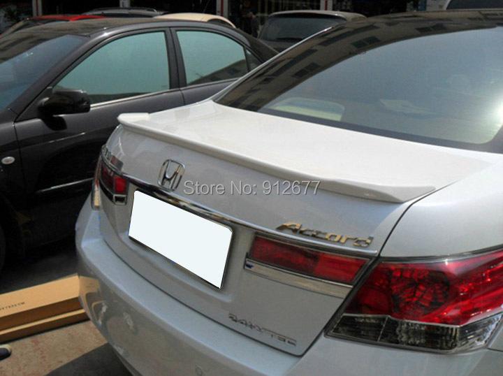 Free Shipping Rear Wing Car Spoilers For Honda Accord 8 2008-2012 Sedan M Type ,Unpainted ,Primer ,Trunk Lip Spoiler For Accord<br><br>Aliexpress